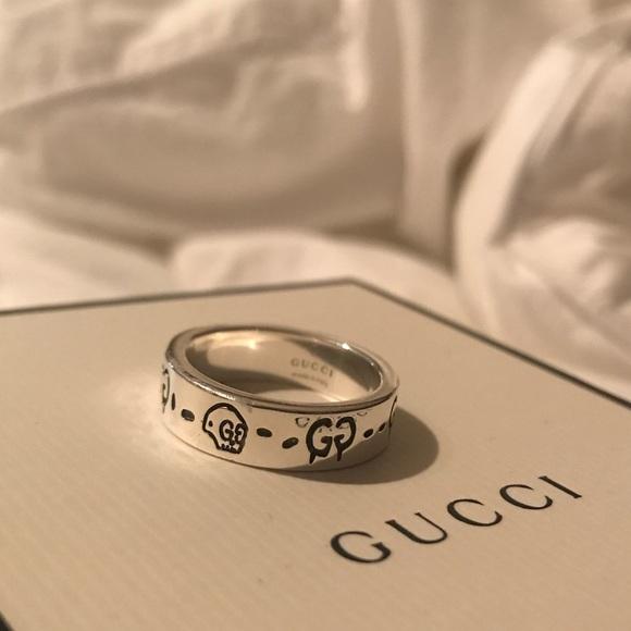 0dc61ac8f Gucci Jewelry | Ghost Ring Size 75 | Poshmark
